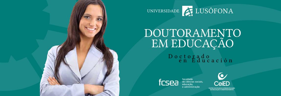 Doutoramento em Educação reconhecido