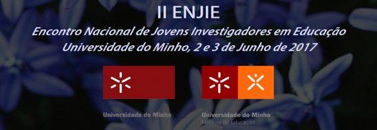 Destaques: II ENJIE - Encontro Nacional de Jovens Investigadores em Educação