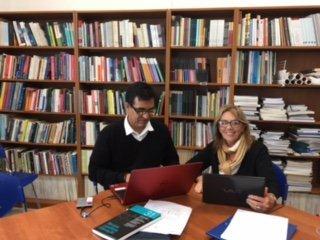 A Doutora Graça Bollmann realiza o seu Pós-Doutoramento no CeiED