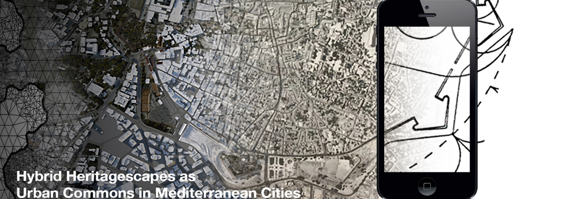 Call for participants: Training School Cyberparks – Hybrid Heritagescapes as Urban Commons in Mediterranean Cities