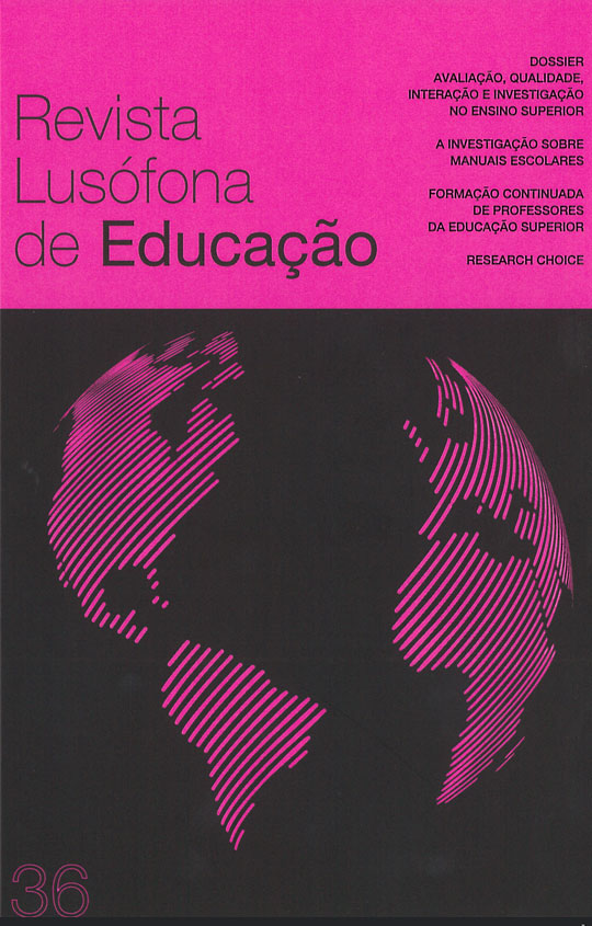 Revista Lusófona de Educação nº 36