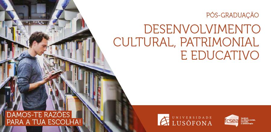 Pós-graduação em Desenvolvimento Cultural, Patrimonial e Educativo