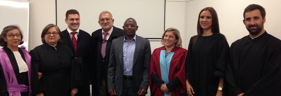 Defesa pública de tese de Doutoramento em Educação de Moisés Manuel Cau