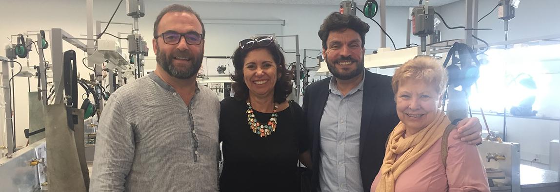 """Visita académica da Professora Lilian Nascimento - """"Educação de surdos: desafios e oportunidades"""""""