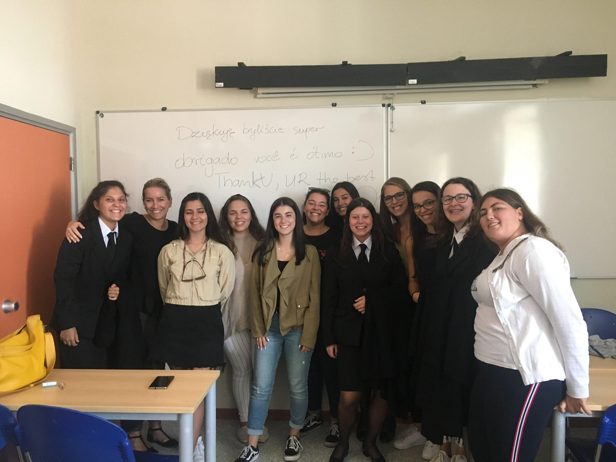 The Lusófona University was visited by Joanna Kozielska