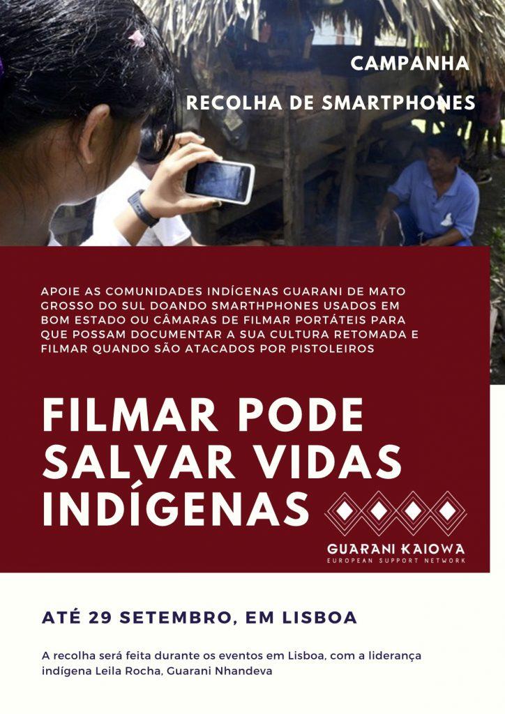 Filmar pode salvar vidas indígenas