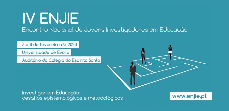 IV ENJIE - Encontro Nacional de Jovens Investigadores em Educação