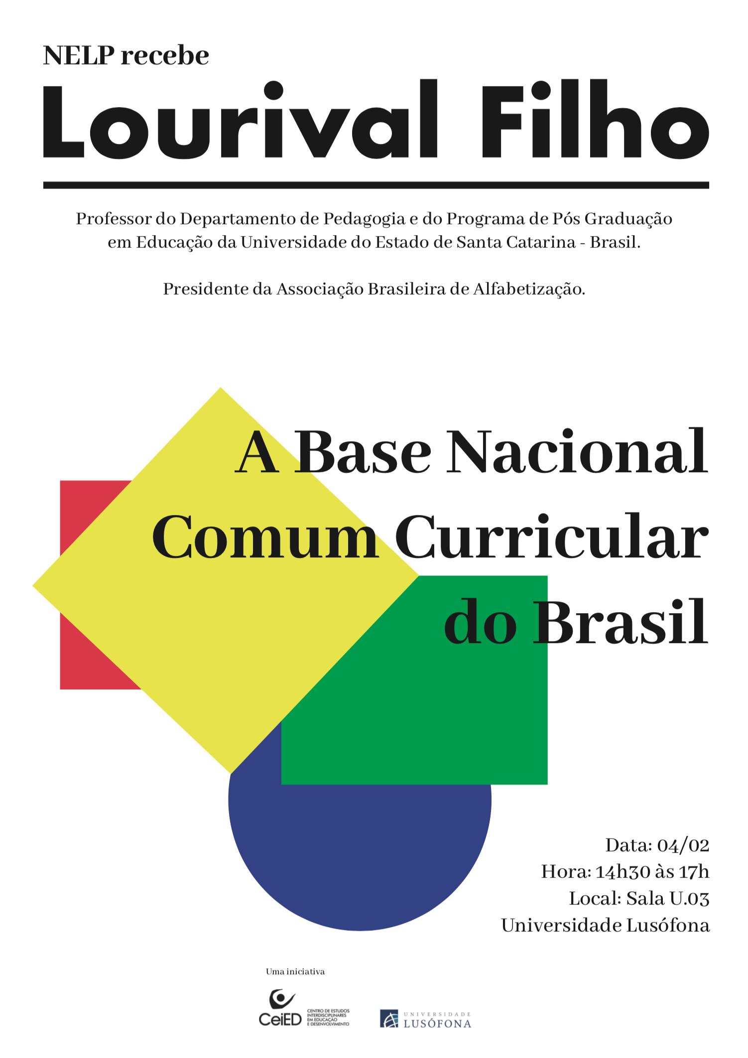 """ReLeCo Núcleo de Estudos de Língua Portuguesa promove debate """"A Base Nacional Comum Curricular do Brasil"""""""