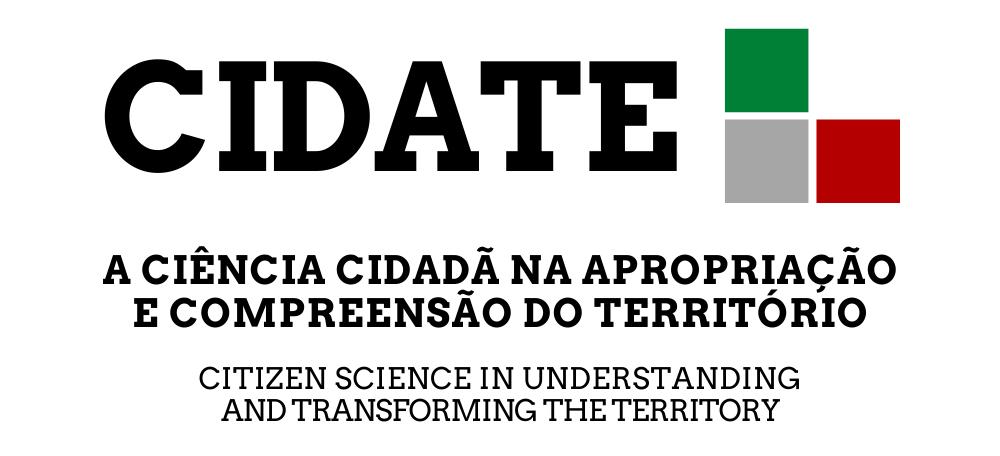 CIDATE: A Ciência Cidadã na apropriação e compreensão do Território